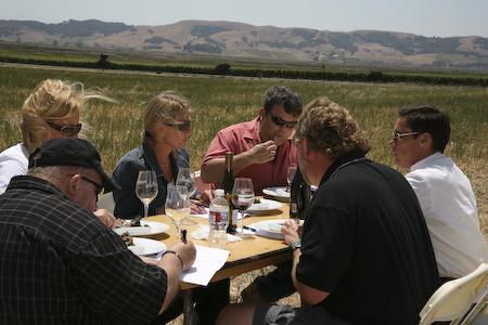 Carneros Heritage Festival. Дегустация калифорнийских вин из Карнероса.
