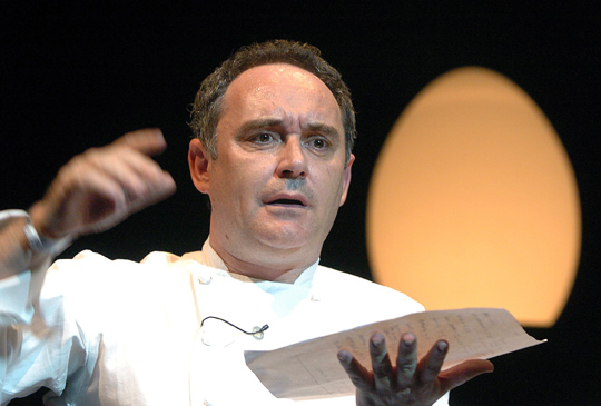 Мастер молекулярной кухни Ферран Адриа решил открыть пиццерию в Барселоне…