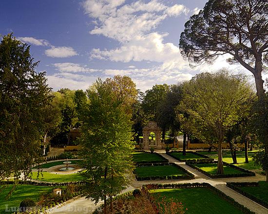 Four Seasons во Флоренции - вид из окна