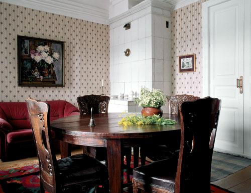 Дом Новожиловых в Плесе, гостинная