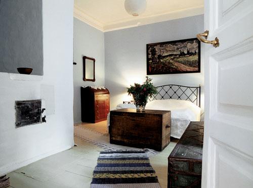 Дом Новожиловых в Плесе, спальня