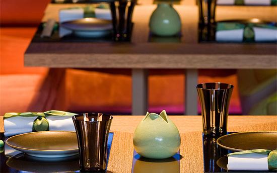 интерьеры ресторана Yoshi - безупречны