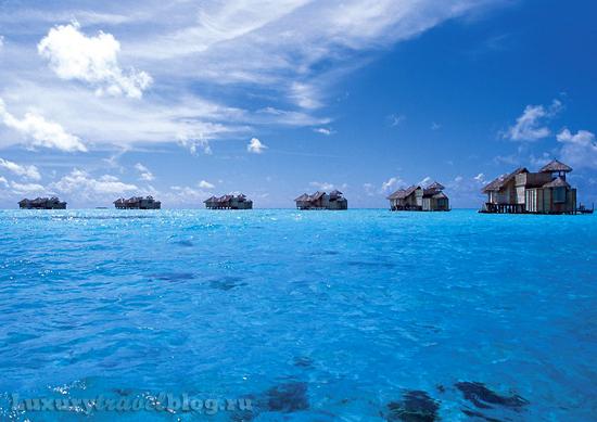 Soneva gili, отель на Мальдивских островах