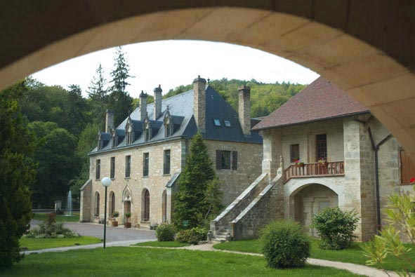 abbaye, Бургундия
