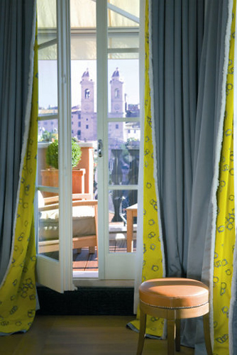 Из некоторых комнат Portrait Suites открываются очень красивые виды