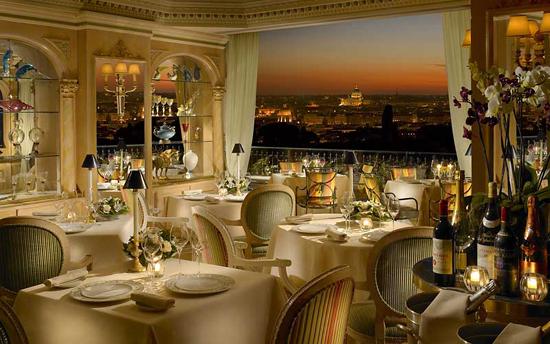 ресторан Mirabelle, Рим