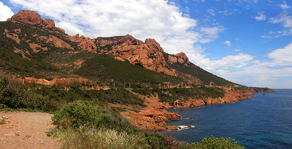 Massif de l'esterel. flickr.com/rothar