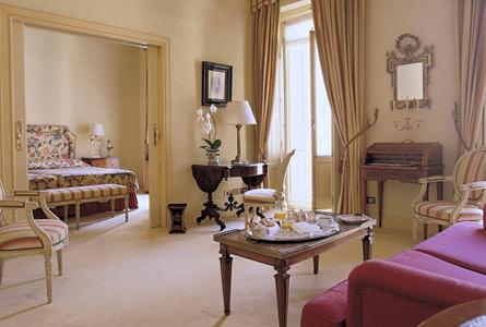 suite lujo в отеле Orfila