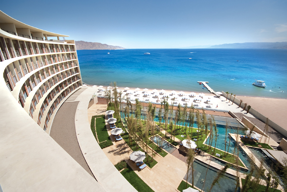 Creative Architecture Luxurious Facilities - Kempinski Hotel Aqaba
