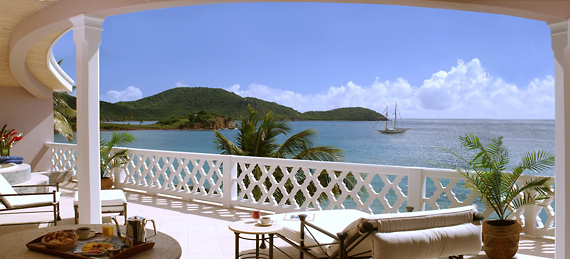 Curtain Bluff  Grace Bay Veranda, карибские острова фото