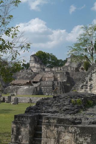 La Lancha , Гватемала, руины Майя