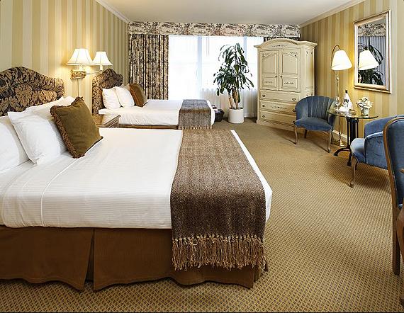 Executive room two doubles, Ванкувер, отель Wedgewood
