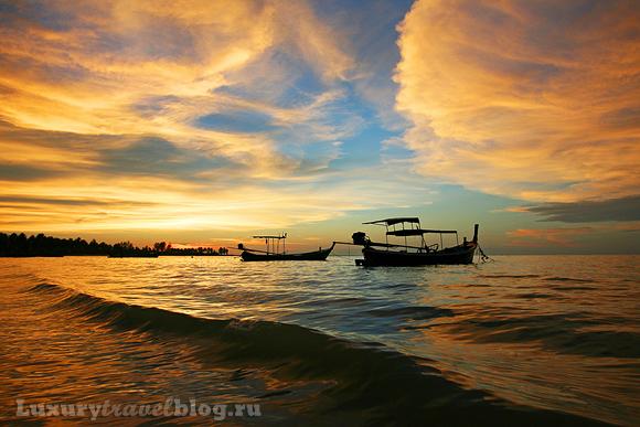 Закат в Таиланде. Фото - Юлия Ряскина