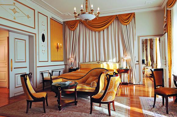 Beau-Rivage Palace, отель в Лозанне, Швейцария