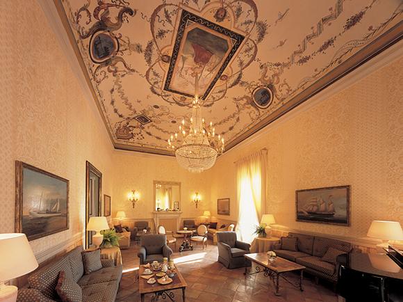 Равелло, Италия, отель Caruso