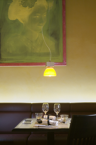 Beau-Rivage Palace, отель в Лозанне, Швейцария, японский ресторан