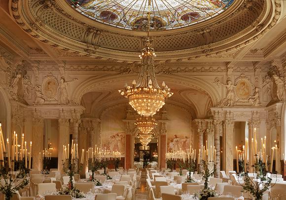 SANDOZ Gala dinner, Beau-Rivage Palace, отель в Лозанне, Швейцария