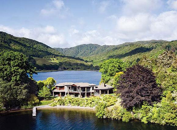 отель Lake Okareka Lodge, Роторуа, Новая Зеландия