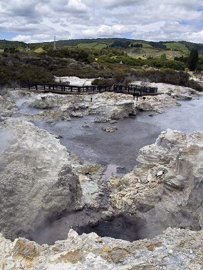 Долина гейзеров Роторуа, Врата Ада. Фото: drspam/flickr.com