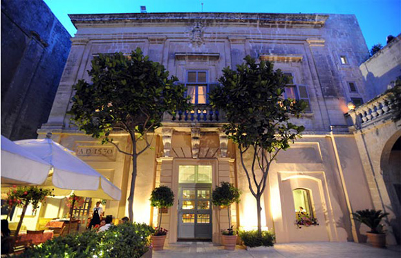 остров Мальта, Мдина, отель The Xara Palace