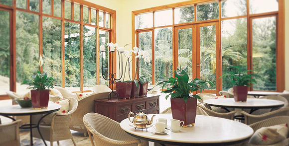 conservatory в отеле treetops
