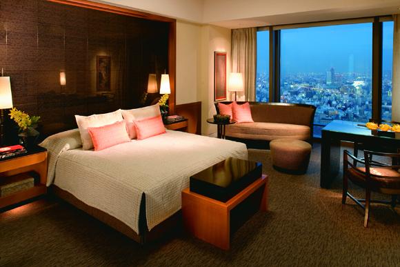 Mandarin Oriental Tokyo, весь отель на ночь — пиар или реальность?