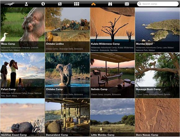 Виртуальная Африка: Wilderness Window для iPad