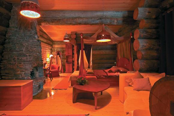 отель Kakslauttanen в Лапландии