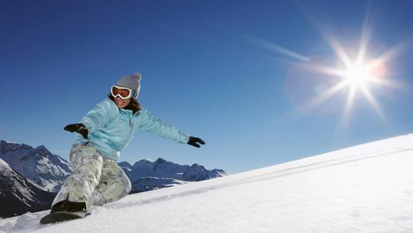 Те же лыжи, вид с другой стороны глобуса