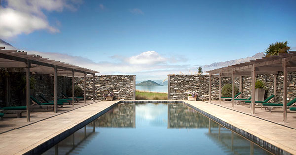 blanket bay - swiming pool