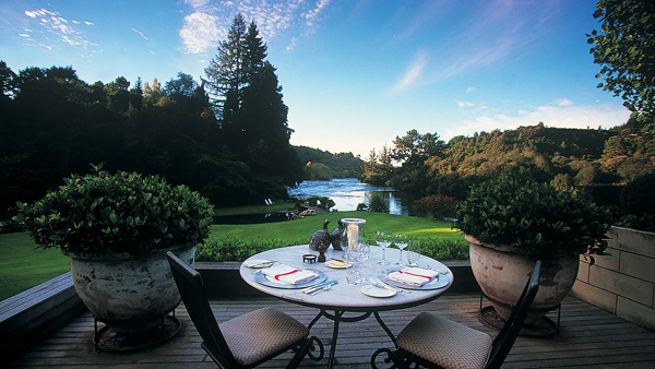 Huka Lodge, Новая Зеландия