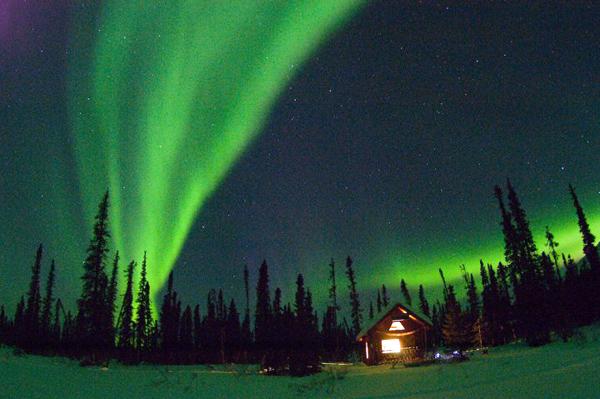 Вечное сияние чистой Аляски