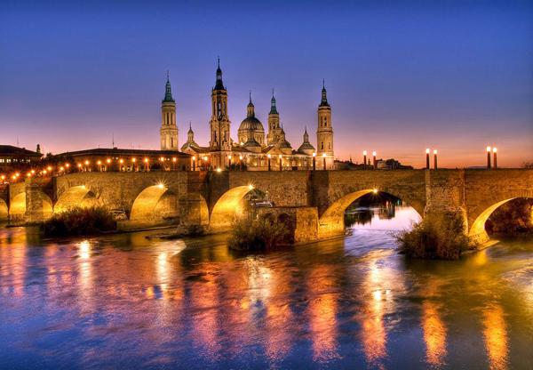 Zaragoza_cityscape_architecture