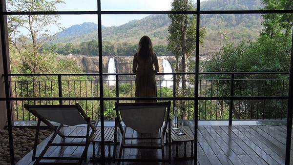 Rainforest Resort с видом на индийскую Ниагару